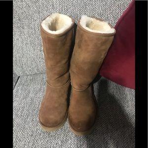 Tall Ugg Chestnut Boots